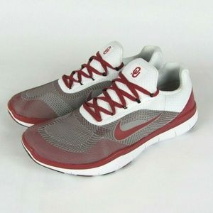 NEW NIKE Oklahoma Sooners Free Trainer V7 Shoes 12